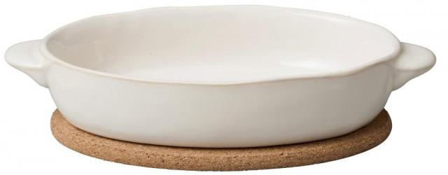 オーバルグラタン皿