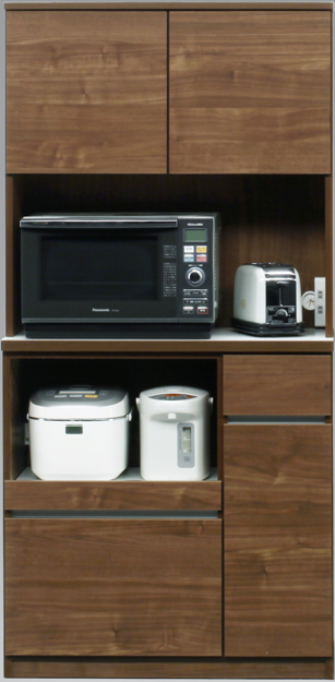 ローリエ 90 WN キッチンボード