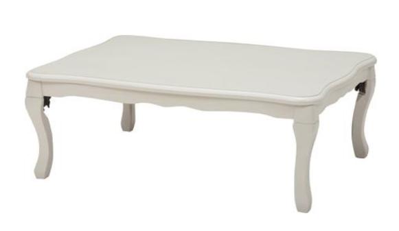 ルシファー 105 リビングコタツテーブル WHの画像