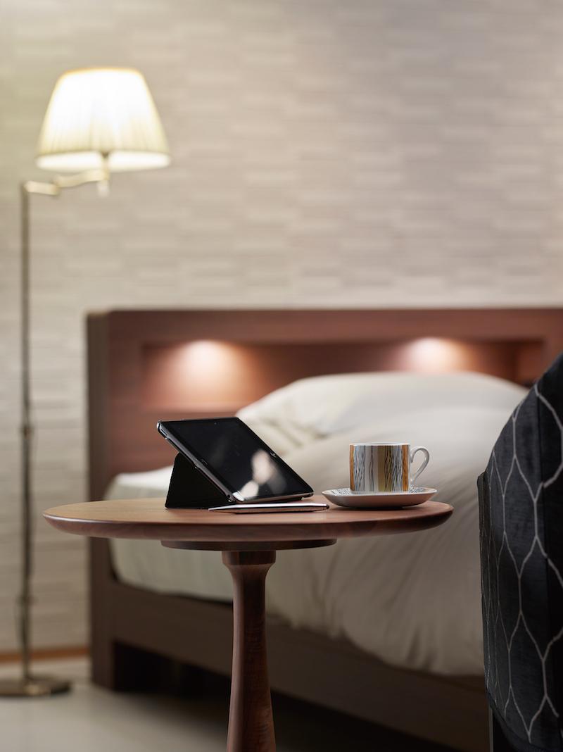 ホテルのような寝室