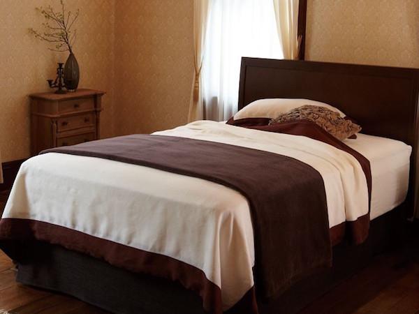 ベッドのデコレーション