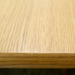 突板のダイニングテーブル天板