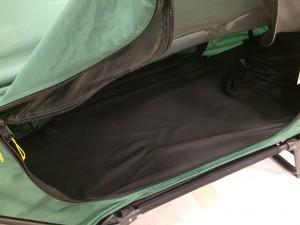 テントベッド