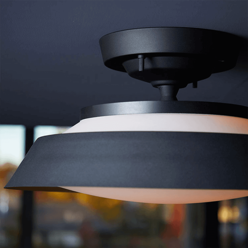 Graph-remote ceiling lamp