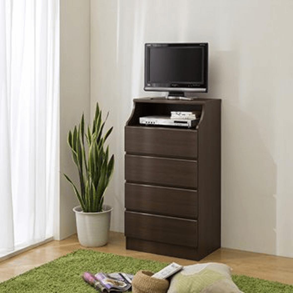 小型のテレビ台としても使用できます。