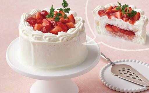 かき氷ショートケーキ