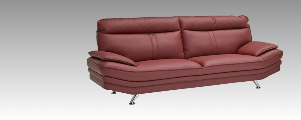 ハイバックでモダンなデザインの革張りソファ「タルガ2」