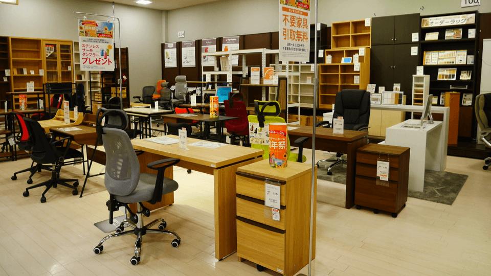 書斎家具売場
