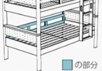 2段ベッド ヒュッテ オプションパーツ