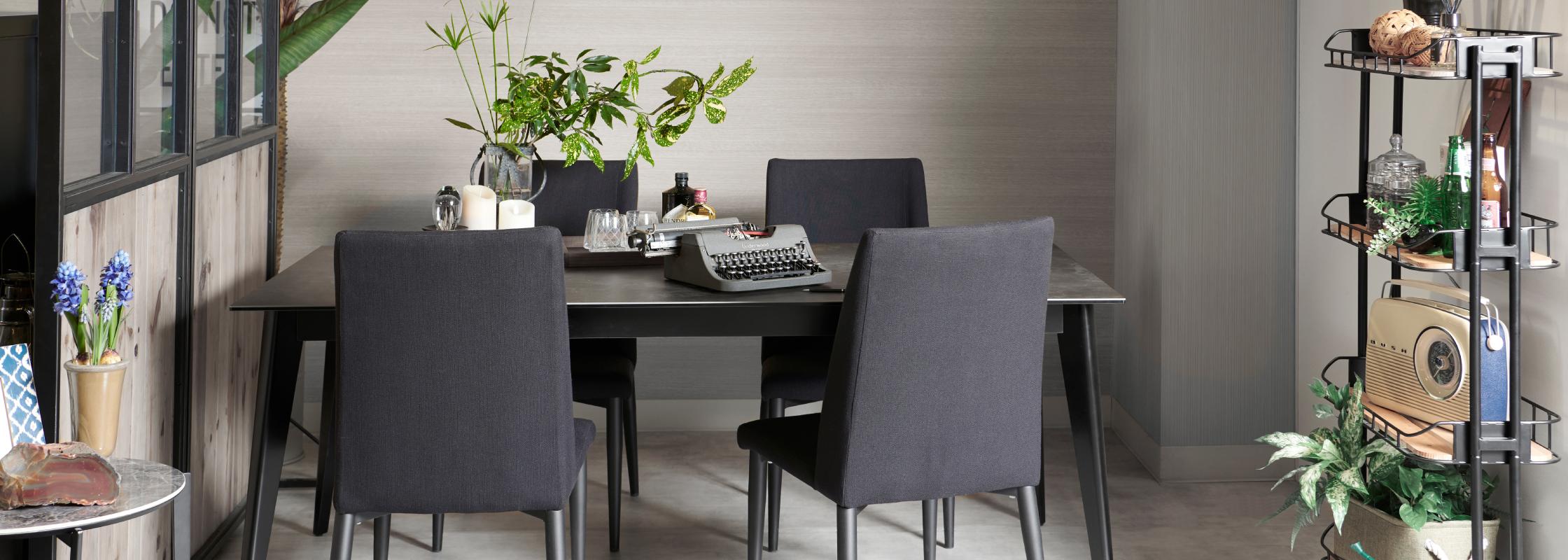 スペイン産セラミック使用のダイニングテーブル「クォーツ2」