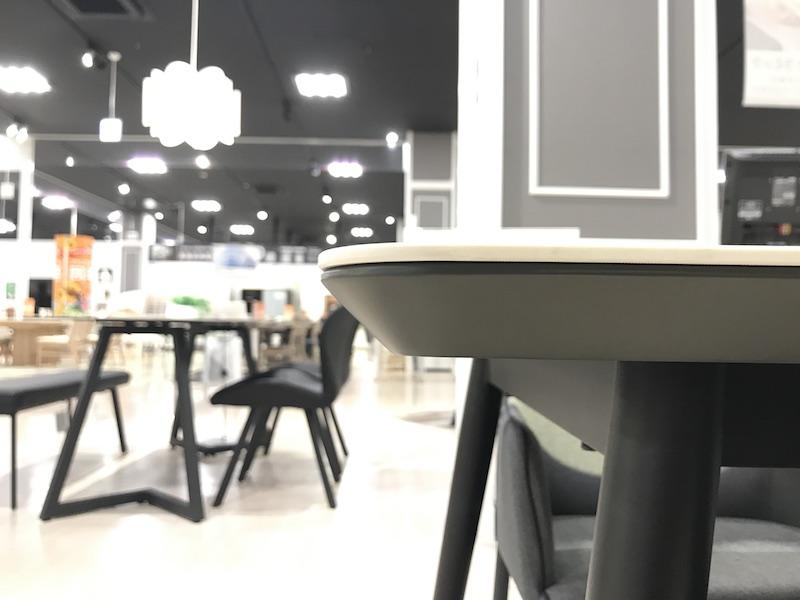 セラミック天板テーブル バレット