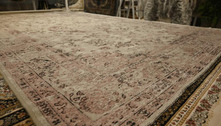 平織りカーペット