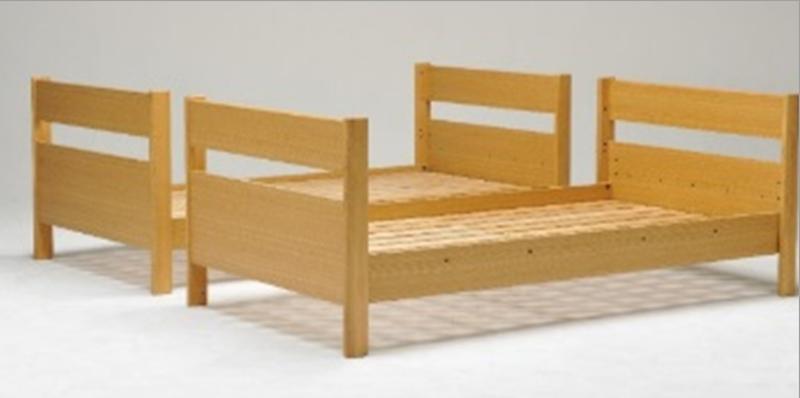 カスティナスリム2段ベッド シングルベッドとしても使用可