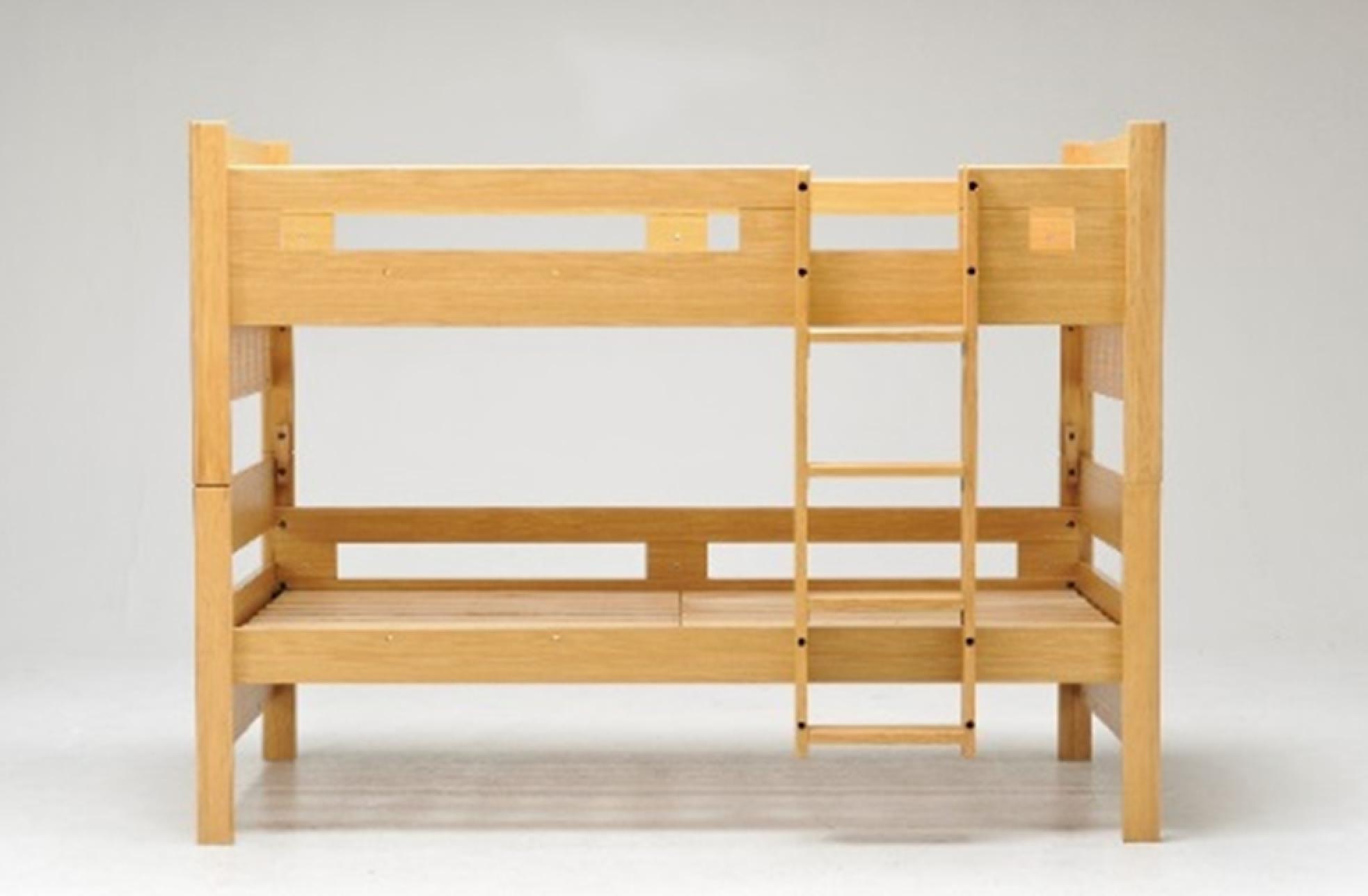 2段ベッド カスティナスリム 高さ調節可