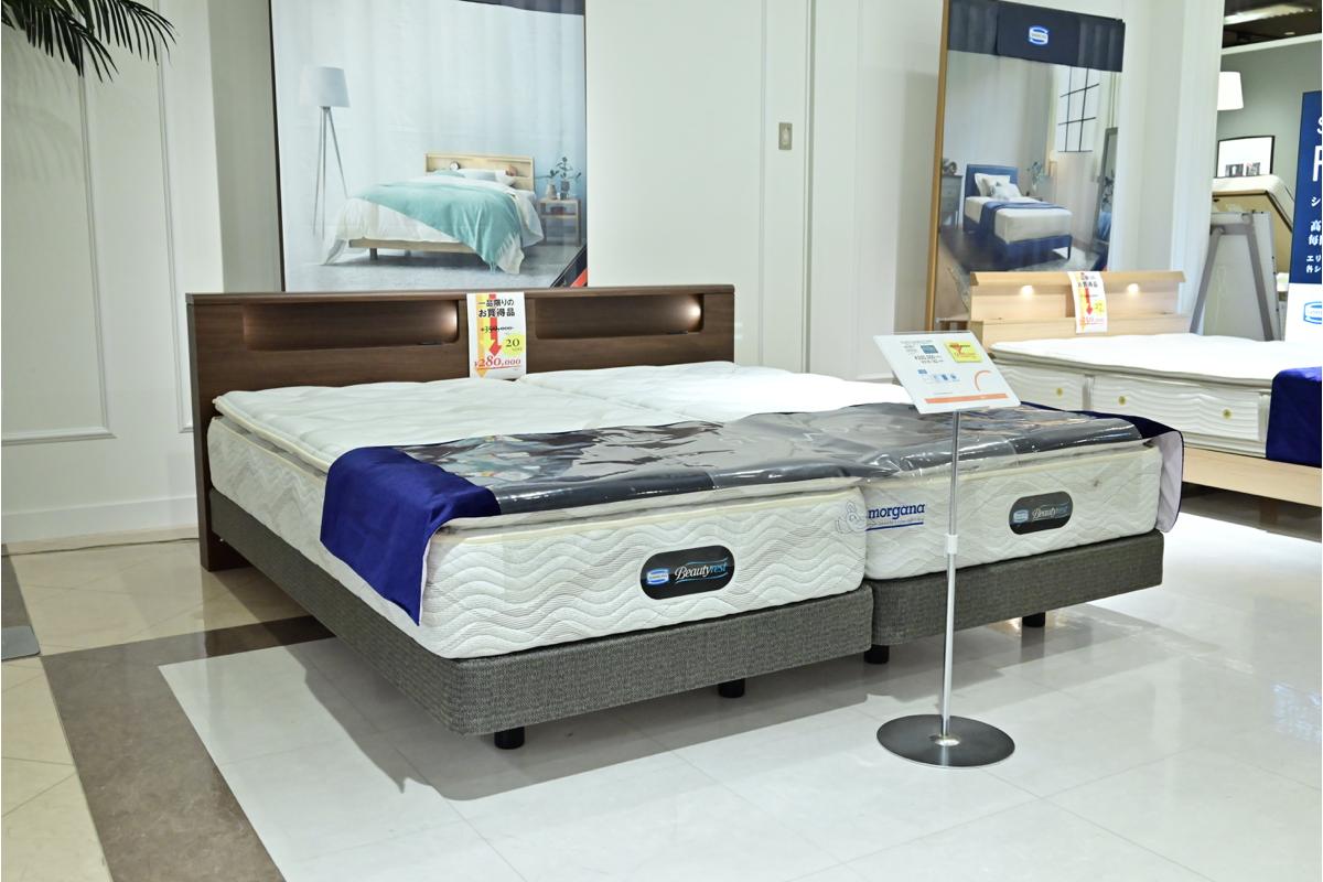 キャビネット付きベッド ツイン販売